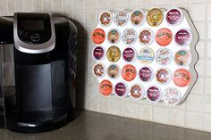 A list of clever ways to store your Keurig coffee pods from K-Cup drawers to carousels to mini coffee stations.