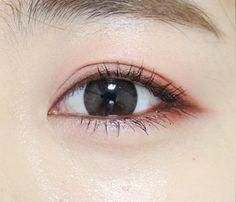 Eye Makeup Tips and Advice Asian Makeup Looks, Korean Eye Makeup, Korea Makeup, Simple Eye Makeup, Cute Makeup, Pretty Makeup, Skin Makeup, Beauty Makeup, Ulzzang Makeup