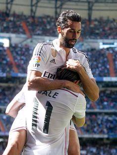 Álvaro Arbeloa & Gareth Bale - Real Madrid