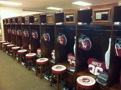University of Alabama locker room   2012  Roll Tide