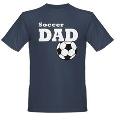 Soccer Dad: Organic Men's T-Shirt (dark)