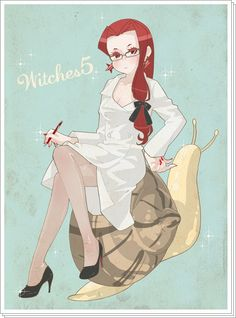 Sailor Moon / Witches 5 / Eudial