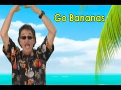 We put a fun new beat to this popular children's favorite, Go Bananas. Go Bananas is a wonderful brain breaks song your children can sing and move along with. Music Education Lessons, Physical Education Games, Kids Education, Physical Activities, Health Education, Character Education, Motor Activities, Movement Songs For Preschool, Preschool Music