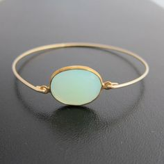 Frosted Willow Opal Bracelet