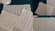 Güzel Kalpler Örgü Modeliyle Gelin Yeleği Yapılışı | Kolay Hobiler Baby Knitting Patterns, Towel, Vest, Crochet Stitches, Dots, Book Lovers, Breien