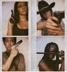 Walking Dead Maggie Carl Glenn and Michonne Walking Dead Season 6, Walking Dead Tv Show, Fear The Walking Dead, Talking To The Dead, Tough As Nails, Portraits, Film Serie, Dead Man, Daryl Dixon