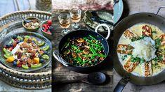 Halloumi, Portobello, Acai Bowl, Lunch, Breakfast, Ethnic Recipes, Food, Drink, Lights