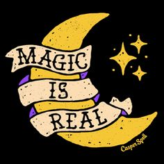 Magic is Real Moon Star Tattoo Art Spooky Cute Whimsical Design Shirt Pillow . Magic is Real Moon Star Tattoo Art Spooky Cute Whimsical Design Shirt Pillow . Witch Aesthetic, Aesthetic Space, Mystique, Witch Art, Design Graphique, Pentacle, Halloween Art, Art Design, Art Inspo