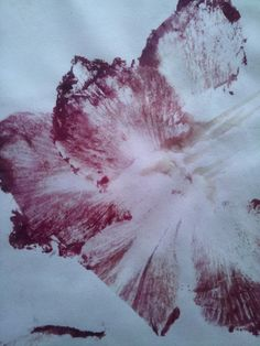 Pressed flower, made by applying heat from iron. Pressed flower, made by applying heat from iron. Dark Paradise, A Level Art, Plant Art, Weaving Art, Nature Crafts, Texture Design, How To Dye Fabric, Diy Flowers, Flower Art