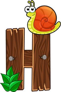 H letter fence Alphabet Templates, Animal Templates, Alphabet Style, Alphabet And Numbers, Alphabet Letters, Alfabeto Animal, Alphabet Pictures, Animal Alphabet, Wood Letters