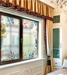 Amazoncom Beyong Life Green Leaves Privacy Window Film Glass - Bird window stickers amazon