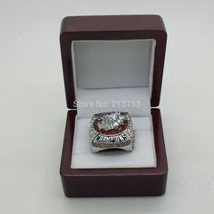 2013 Blackhawks Toews Stanley Cup Championship Ring championship ring with wood ring box