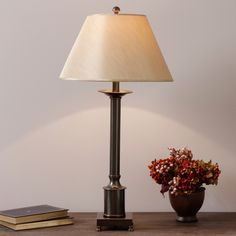 Column Table Lamp - Overstock™ Shopping - Great Deals on Table Lamps