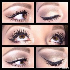 All About Eyes by Amanda....shadows used includes Irresistible, Angelic, Confident, Pristine, and Elegant cream Shadow. Beautiful look.