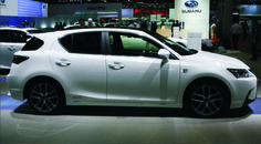 """2017 Lexus CT is a hybrid electric vehicle introduced by Lexus as a premium sport compact hatchback. Lexus CT is the first production model in the family Lexus to enter the draft """"Grill head"""" as seen in the fascia."""