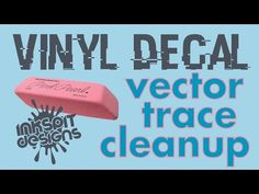 AI--VINYL DECAL DESIGN - VECTOR IMAGE TRACE CLEANUP - YouTube