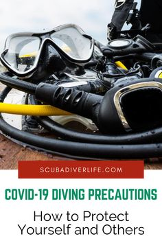Divers around the world are wondering how to move forward in these uncertain times. Here are some updated COVID-19 diving precautions courtesy of DAN. #covid19 #divingprecautions #divingpractices #scubadivingtips #scubadiving #scubadivingprecautions #scubadivingpractices Best Scuba Diving, Padi Diving, How To Move Forward, Moving Forward, Technical Diving, Diving Course, Koh Tao, How To Protect Yourself, Snorkeling
