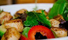 Spicy scallop salad