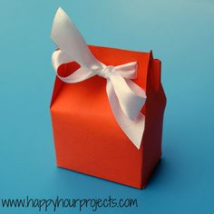 Paper Treat Box diy
