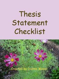 What is a good thesis statement for teaching evolution in public schools?