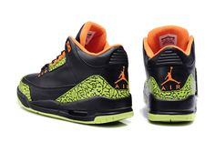 298cb71f07d New Nike Air Jordan III Mens Shoes in Black and Green