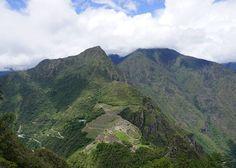 View of Machu Picchu from Huyana Picchu