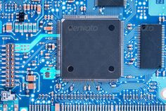 electronic circuit board with processor ...  background, blue, board, card, chip, circuit, closeup, component, computer, cpu, data, detail, device, digital, electronic, hardware, information, integrated, macro, manufacturing, microchip, microprocessor, motherboard, network, part, processor, resistor, science, server, system, technology