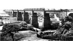 Dinting Arches from the old road to Glossop Domesday Book, South Yorkshire, Derbyshire, Arches, Family History, Marina Bay Sands, Vintage Photos, Monochrome, Trains