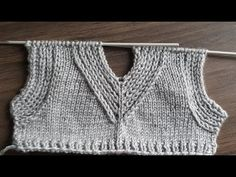 Baby Knitting Patterns, Knitting Stitches, Knitting Needles, Hand Knitting, Stitch Patterns, Knitted Baby Clothes, Knitted Hats, Knitting Videos, Youtube
