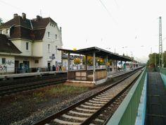 Walldorf Hessen train station with RR tracks (back)