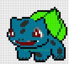 Bulbasaur Minecraft template