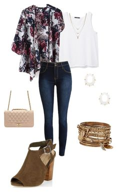 """""""Untitled #125"""" by kmysoccer on Polyvore featuring MANGO, New Look, Kendra Scott, ALDO and Jessica Simpson"""