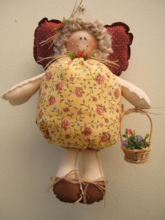 Essa anja vai de presente pra Eliana Bahianinha, ela é apaixonada por essa bonequinha! Foi a primeira que fiz!