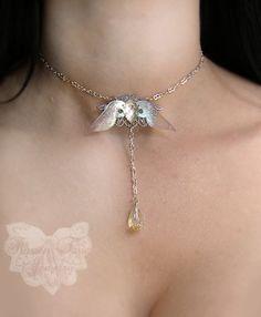 goth chain choker