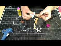 Julie Nutting Collection feature on Live with Prima - YouTube - doll stamps and dies AND dollhouse book and dollhouse chipboard
