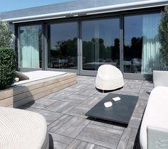 Pavimento sobre elevado para ambientes de exterior #AzulejosPeña #IdeaTuHogar