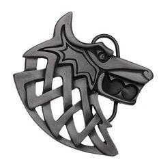 Viking Wolf Belt Buckle including Presentation Box: Amazon.co.uk: Clothing