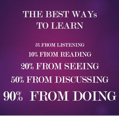 The Best Ways to Learn