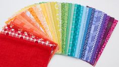 36 Color Wheel Surly Square Bundle Quilting Fabric by surlysheep