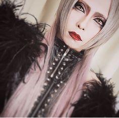 Aryu: Morrigan Rock Makeup, Toxic Vision, Visual Kei, Pretty Boys, Harajuku, Halloween Face Makeup, Make Up, Cosplay, Cute