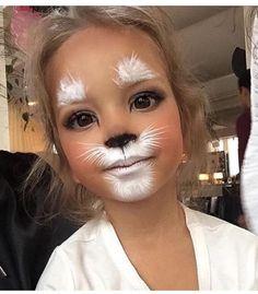 Explore collection of Easter Bunny Face Painting Bunny Makeup, Kids Makeup, Kitty Cat Makeup, White Rabbit Makeup, Cat Face Makeup, White Face Makeup, Tiger Makeup, Makeup Eyes, Cat Cat