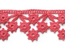 MyPicot - Dozens of crochet stitch patterns, solid, lace, multicolor, edgings, and applique. All patterns are diagrammed.
