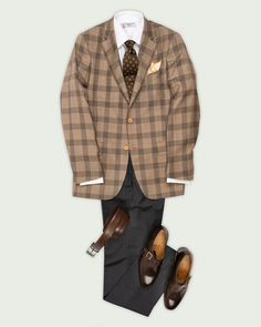 Dapper Gentleman, Gentleman Style, Sharp Dressed Man, Well Dressed Men, Mature Mens Fashion, Business Casual Jeans, Clothing Store Displays, Suit Combinations, Brown Suits