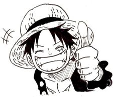 Luffy by Nishiponi