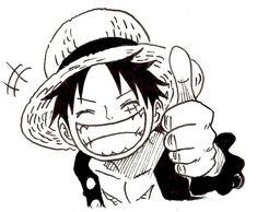 Luffy by Nishiponi
