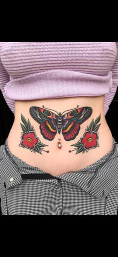 d297d1f14 Octopus Tattoos, Butterfly Tattoos, Empire Tattoo, Punk Baby, Tattoo Time,  American