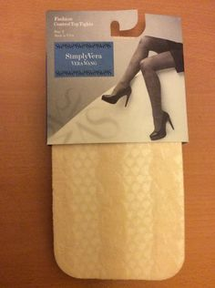 Vera Wang Fashion Control Top Tights size2(Hight 5 3 -6 )Made in USA BNWT RRP$14