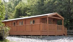 """""""Caban Mawddach"""" - Self Catering Pet Friendly holiday accommodation. Dogs welcome by prior arrangement. 1 Double & 1 Twin Bedroom - Sleeps 4. www.snowdonialogcabins.co.uk"""