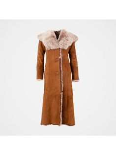 【Clearance Sale💥Shipped Within 24h】Hooded Toscana Coat - inkshe.com Boho Fashion, Winter Fashion, Long Hooded Coat, Sheepskin Coat, Winter Mode, Dress Suits, Coat Dress, Sleeve Styles, Mantel