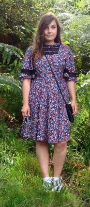 Sabrina's Martha dress - sewing pattern by Tilly and the Buttons